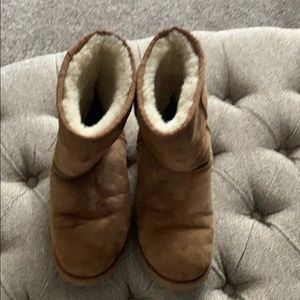 Obviously worn Ugg boots
